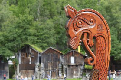 Unesco World Heritage Site. Viking Ship Replica. Geiranger, Norway by Tom Norring