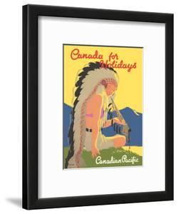 Canada for Holidays - Canadian Pacific by Tom Purvis