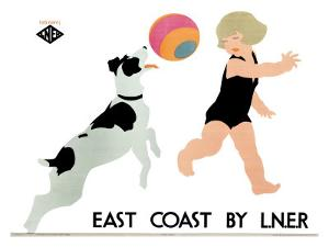 East Coast Liner by Tom Purvis