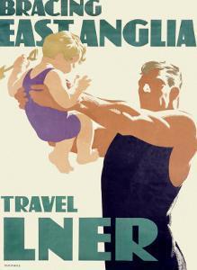LNER, Bracing East Anglia by Tom Purvis