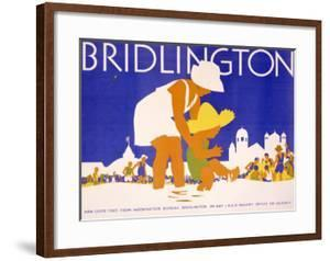 LNER, Bridlington Beach by Tom Purvis