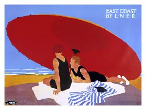 LNER, East Coast, c.1930 by Tom Purvis