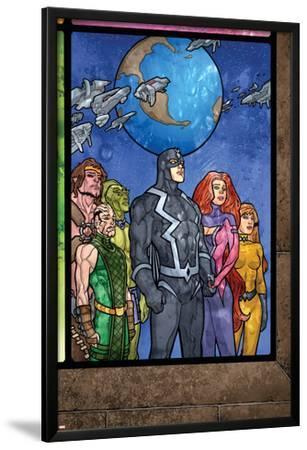 Secret Invasion: Inhumans No.4 Group: Black Bolt, Medusa, Karnak, Gorgon, Crystal and Triton