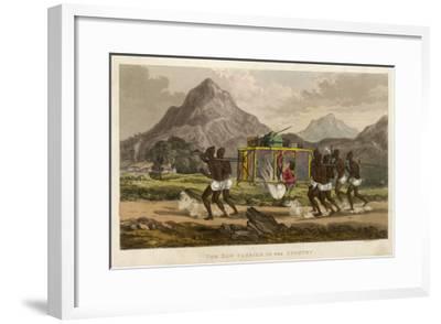 Tom Raw in Litter--Framed Giclee Print