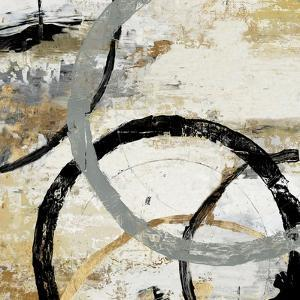 Gold and Black Rings II by Tom Reeves