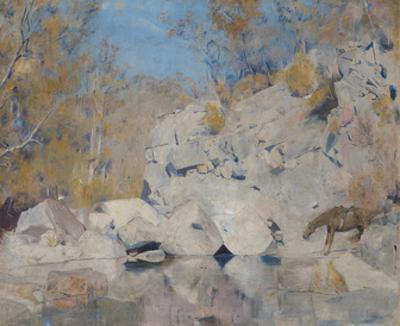 In a corner on the Macintyre (The bushranger)