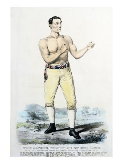 Tom Sayers, Champion of England-Stapleton Collection-Giclee Print