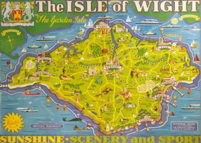The Isle of Wight, BR, c.1949