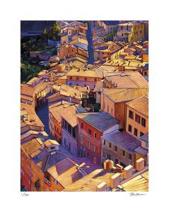 Above Siena by Tom Swimm
