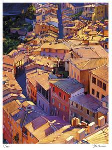 Above Siena by Tom Swimm