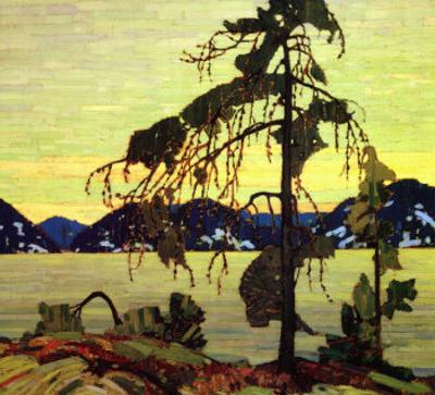 Jack Pine by Tom Thomson