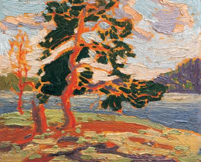 The Pine Tree by Tom Thomson