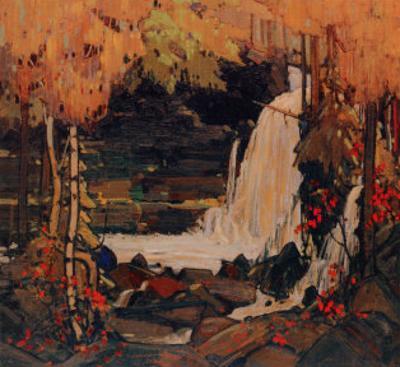 Woodland Waterfall by Tom Thomson