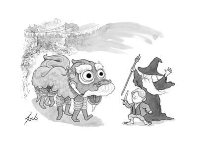 New Yorker Cartoon by Tom Toro