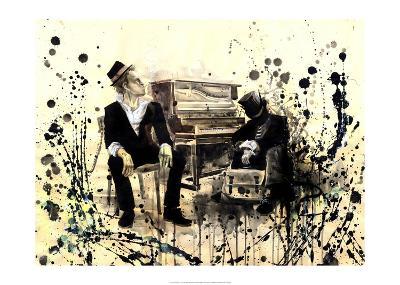 Tom Waits-Lora Zombie-Art Print