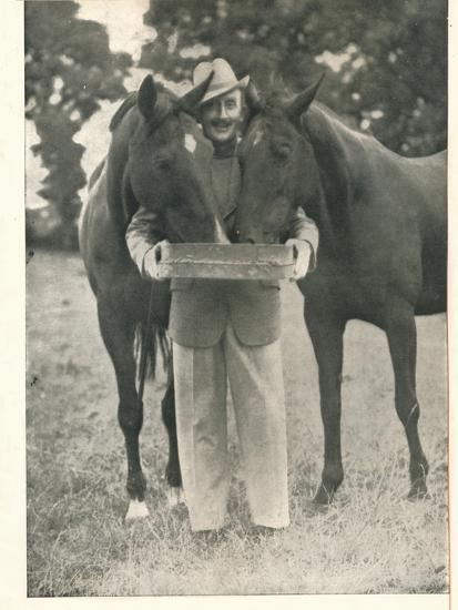 Tom Walls: Would That The Pedigree Of A Horse Were As Reliable A Guide As The Name Of Booth's-Unknown-Photographic Print