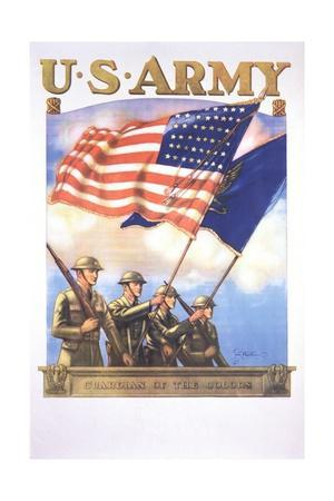 U.S. Army - Guardians of the Colors Poster