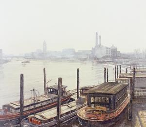 Chelsea Harbour, 2004 by Tom Young