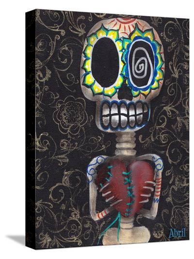 Toma Mi Corazon-Abril Andrade-Stretched Canvas Print