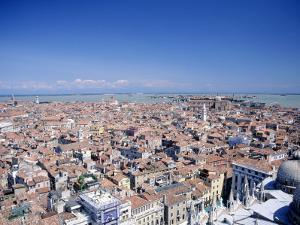 Above View of Venice, Italy by Tomas del Amo