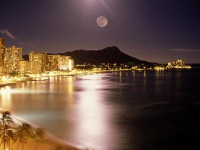 Waikiki Beach and Diamond Head, HI