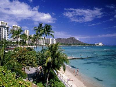 Waikiki Beach, HI