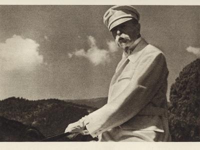 Tomas Garrigue Masaryk--Photographic Print