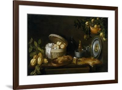 Tomás Hiepes / Still Life, 1668-Tomás Hiepes-Framed Giclee Print