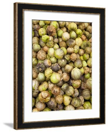 Tomatillos in Market, Guanajuato, Mexico-John & Lisa Merrill-Framed Photographic Print
