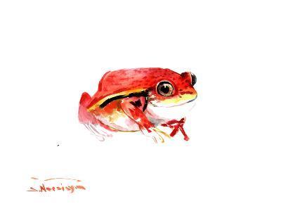 Tomato Frog-Suren Nersisyan-Art Print