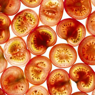 Tomato Slices-Mark Sykes-Photographic Print