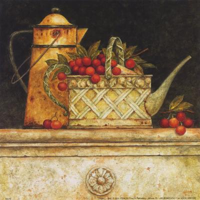 Tomatoes and Whitewash-Eric Barjot-Art Print