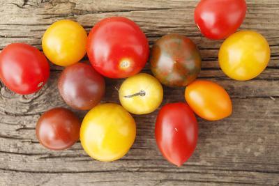 Tomatoes, Wooden Underground-Nikky-Photographic Print