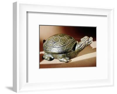 Tomb figure of a turtle, Tang dynasty, Chinese, 618-906-Werner Forman-Framed Photographic Print