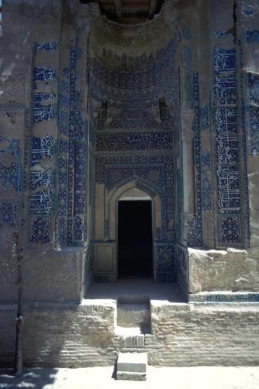 Tomb in the Sha-I-Zindeh Mausoleum, 14th century-Unknown-Photographic Print