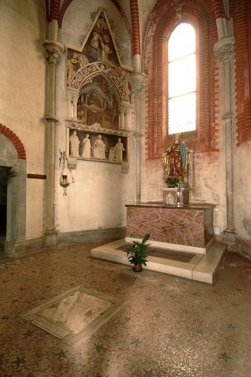 Tomb (Mid-14th Century) of Abbot Tommaso Gallo (Died in 1246)--Photographic Print