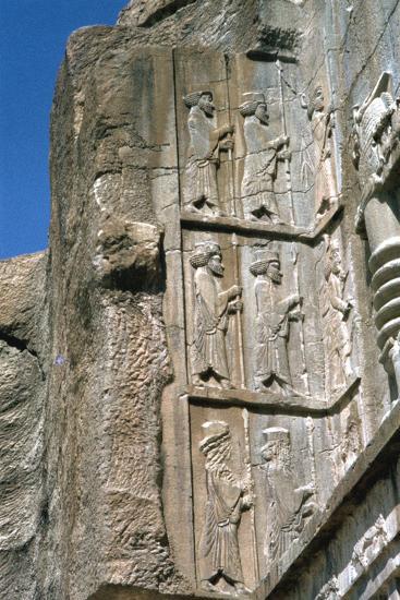 Tomb of Artaxerxes Ii, Persepolis, Iran-Vivienne Sharp-Photographic Print