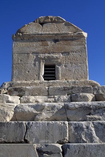 Tomb of Cyrus Great, Pasargad--Photographic Print