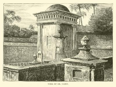 Tomb of Dr Carey--Giclee Print