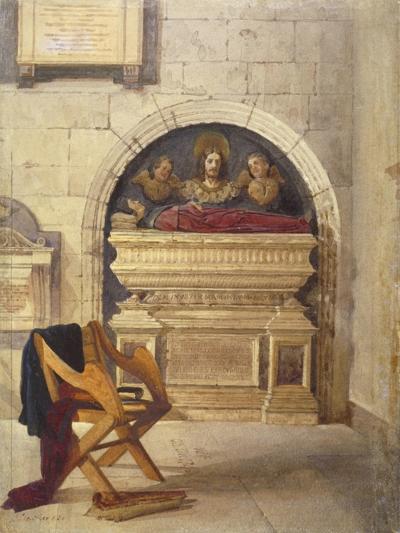 Tomb of Dr John Yonge, Rolls Chapel, Chancery Lane, London, 1880-John Crowther-Giclee Print