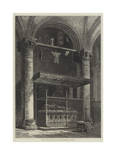 Tomb of Edward the Black Prince in Canterbury Cathedral-Samuel Read-Giclee Print