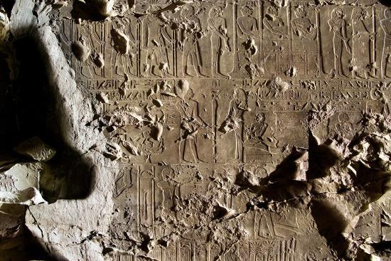 Tomb of First Herald Duaerneheh, Relief Decoration--Giclee Print