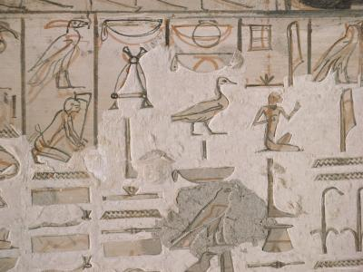 Tomb of Horemheb, Valley of the Kings, Thebes, Unesco World Heritage Site, Egypt-Richard Ashworth-Photographic Print