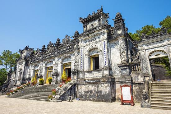 Tomb of Khai Dinh (Lang Khai Dinh), Huong Thuy District, Thua Thien-Hue Province, Vietnam-Jason Langley-Photographic Print