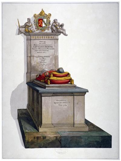 Tomb of Lancelot Andrews, St Saviour's Church, Southwark, London, 1764-Lancelot Andrews -Giclee Print