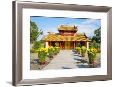 Tomb of Minh Mang (Lang Minh Mang), Huong Tra District, Thua Thien-Hue Province, Vietnam, Indochina-Jason Langley-Framed Photographic Print