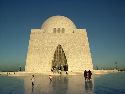 Tomb of Mohammed Ali Jinnah in Karachi, Pakistan-Harding Robert-Photographic Print