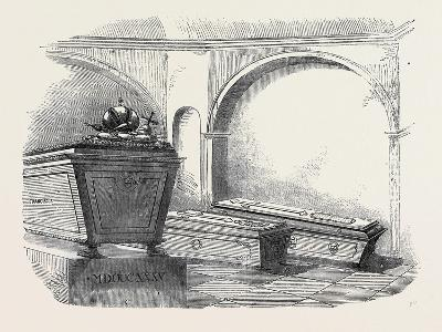 Tomb of Napoleon Ii., in the Imperial Vault, in the Church of the Capuchins, at Vienna--Giclee Print