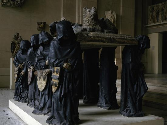 Tomb of Philippe Pot-Antoine Le Moiturier-Giclee Print