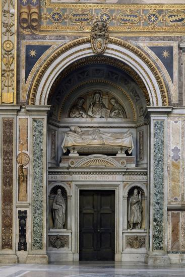 Tomb of Pope Innocent III, St John Lateran's Archbasilica, Rome, Italy, 13th Century--Giclee Print